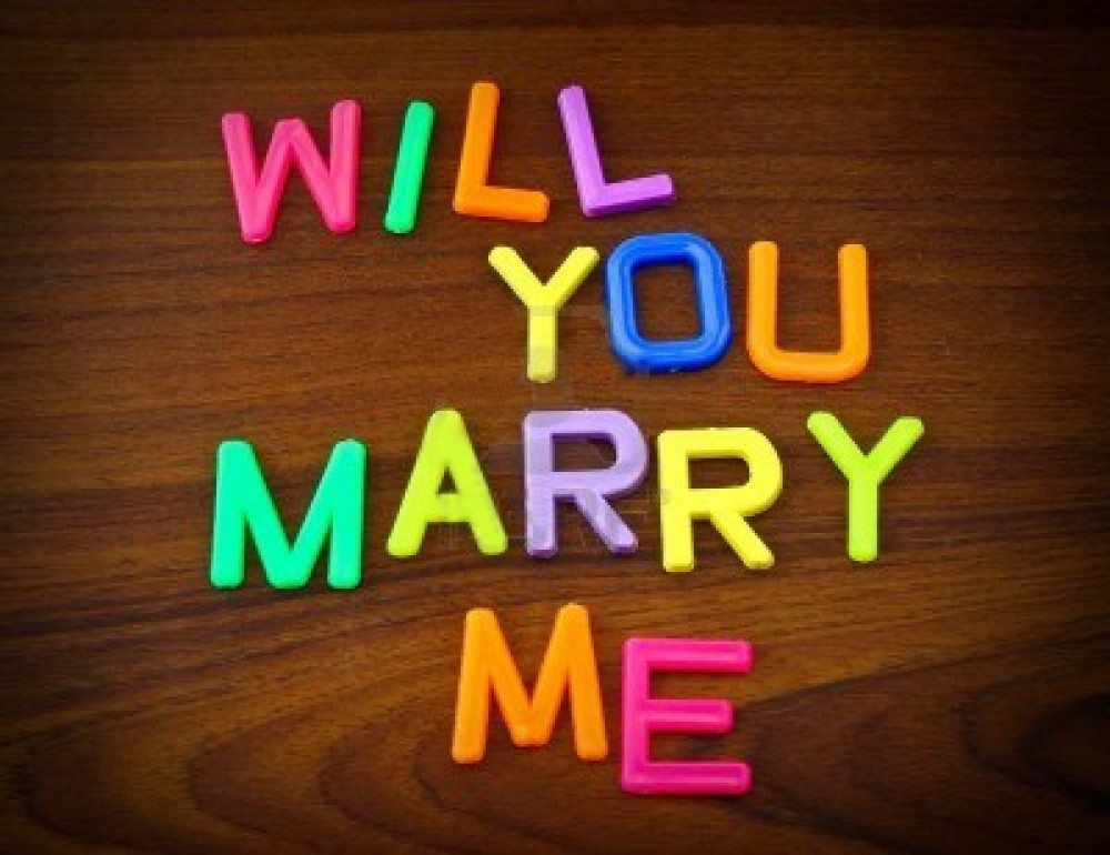 Ways to say 'Will you marry me?'