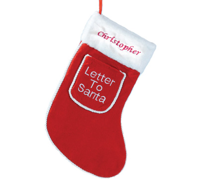 Twitter Competition #1 - Personalised Christmas Stockings
