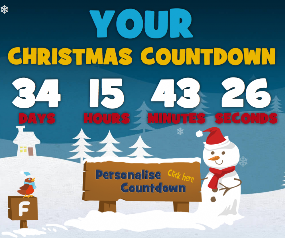 New Christmas Countdown Website Launched