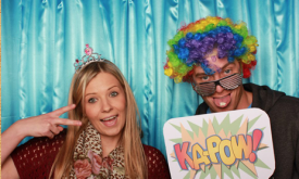 Hire a photo booth for your 30th birthday party