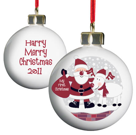 Twitter Competition #3 - Personalised Baubles