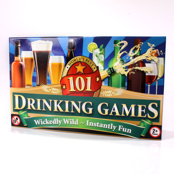 101 Drinking Games - 18th gift
