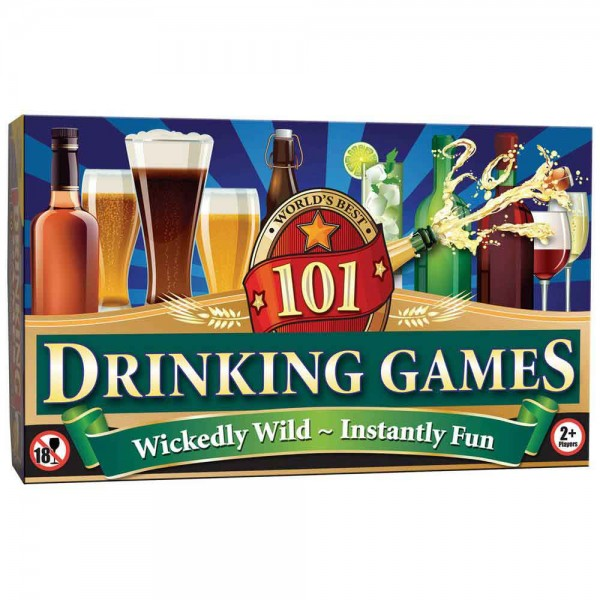 101 Drinking Games Compendium - 21st gift