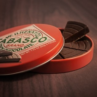 Tabasco Spicy Chocolate - 30th gift