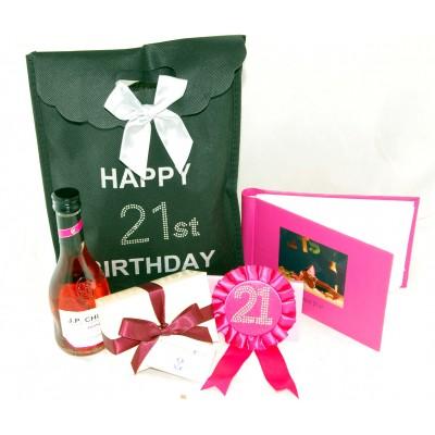 21st Birthday Bag - 21st gift