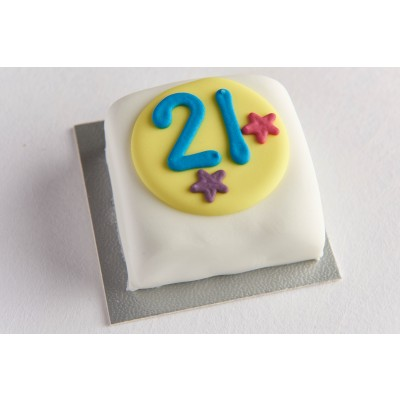21st Birthday Cake - 21st gift