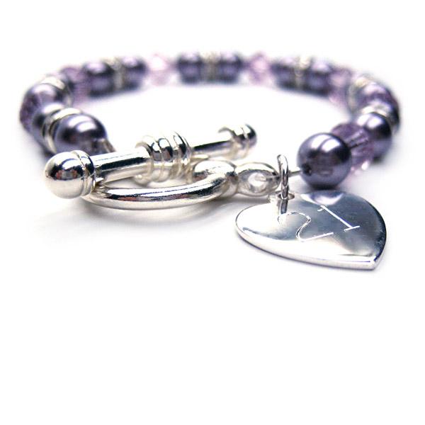 21st Birthday Personalised Aspire Bracelet Single - 21st gift