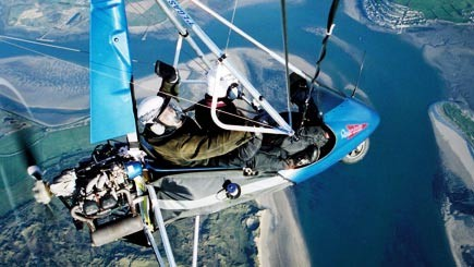 Microlight Flying - 21st gift