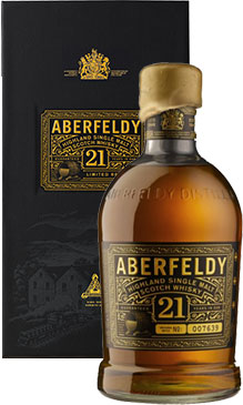 Aberfeldy - 21 Year Old 70cl Bottle - 21st gift