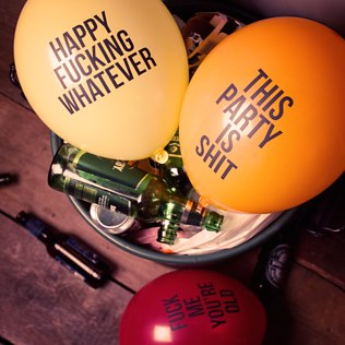 Abusive Balloons - 16th Birthday Novelty Gifts