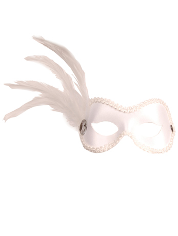 Ballroom White Mask - 50th gift