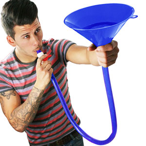 Beer Bong Funnel (Single) - 21st gift