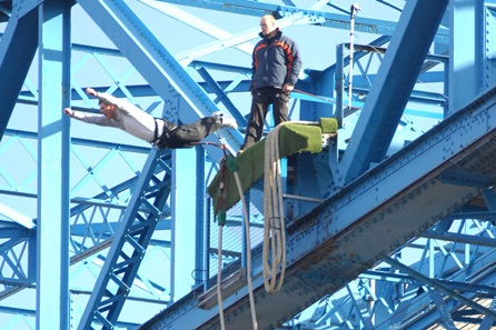 Bridge Bungee Jump - 30th gift