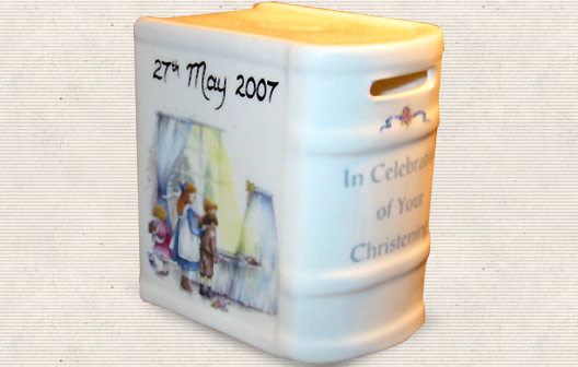 Christening Money Box - Baby  Birthday Your Baby Gifts - Boys Christening