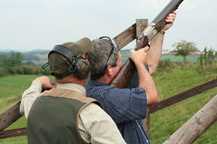 Clay Shooting Experience with Seasonal Refreshments for Two - 30th gift