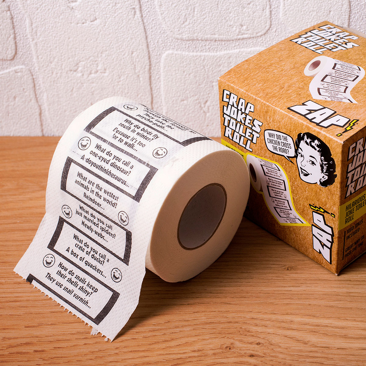 Crap Jokes Toilet Roll - 18th gift