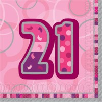 21st Birthday Pink Theme Decorations - 21st Birthday Your Birthdays - Decorations