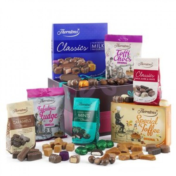 A Taste of Thorntons Chocolate Hamper - 40th Birthday Gifts For Her