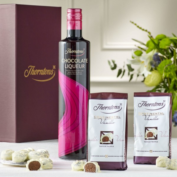 Chocolate Liqueur Hamper - Baby  Birthday Your Baby Gifts - Gifts For Mum