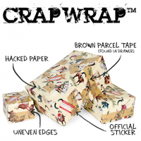 Crapwrap - 40th Birthday Novelty Gifts