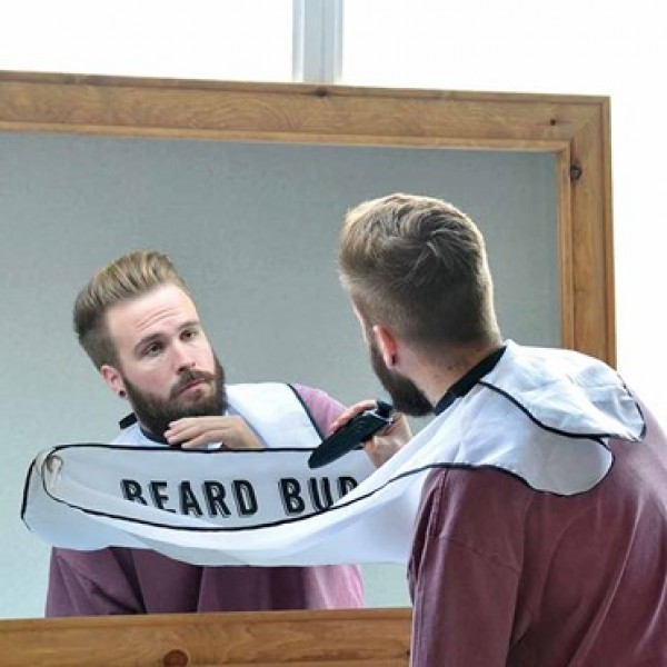 Beard Buddy Shaving Apron - 50th gift