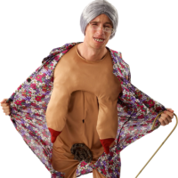 Fancy Dress - Groping Granny Costume - 21st gift