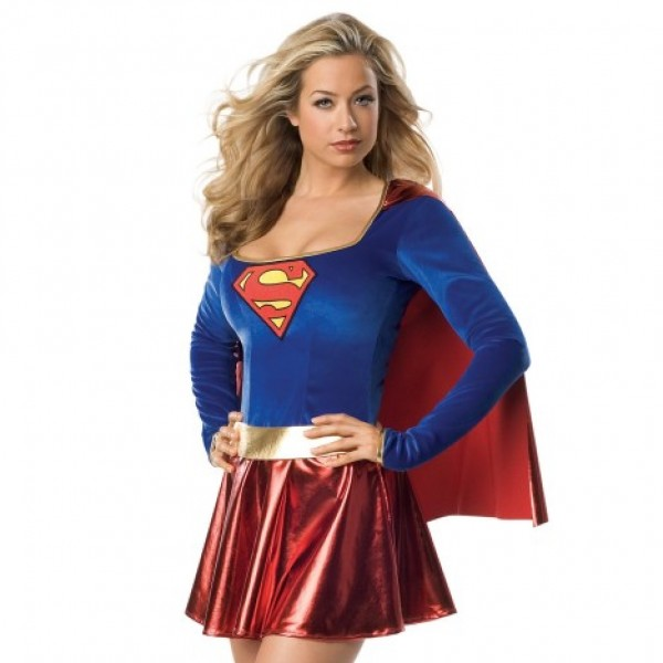 Sexy Supergirl Costume - 21st gift