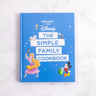 Disney The Simple Family Cookbook - 30th gift