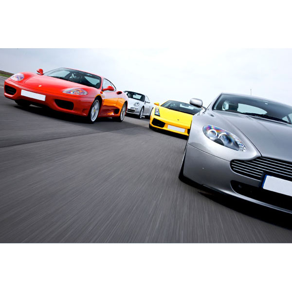 Double Supercar Driving Thrill - 40th Birthday Experiences For Friends & Family