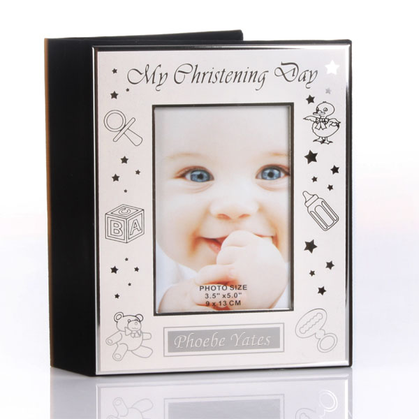 Engraved My Christening Day Photo Album - Baby  Birthday Your Baby Gifts - Girls Christening
