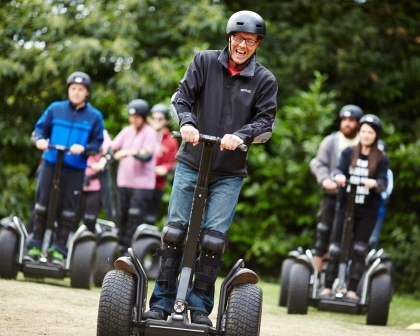 Family Segway Rally Experience - 16th Birthday Experiences For Friends & Family