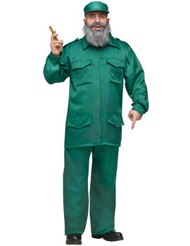 Fancy Dress - Caribbean Dictator Costume - 18th gift