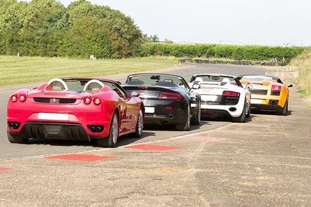 Four Supercar Driving Experience at Goodwood Motor Circuit - 40th Birthday Experiences For Him