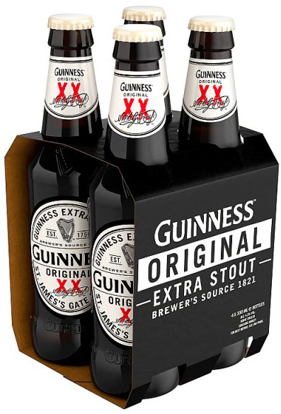 Guinness - Original 24x 330ml Bottles - 18th gift