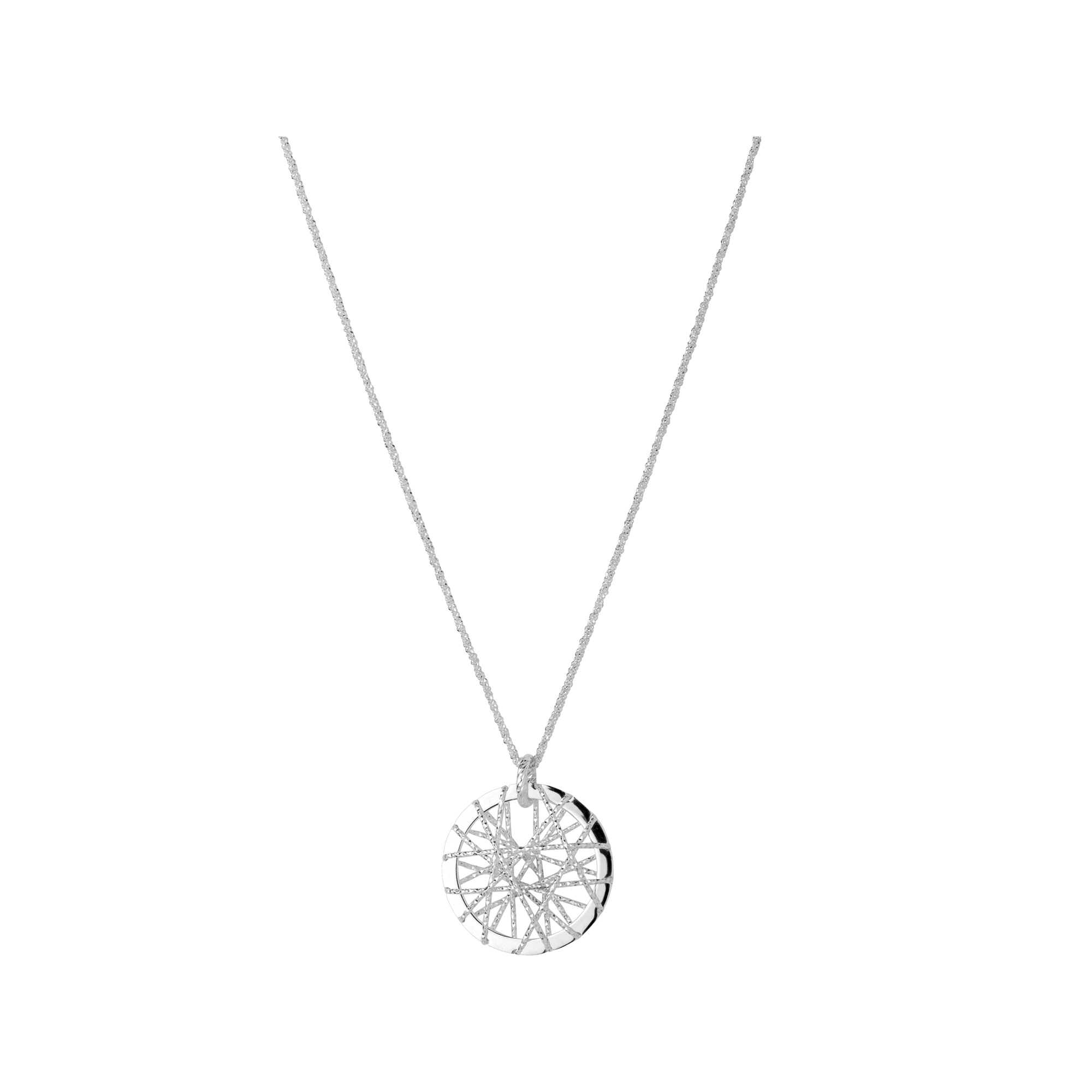 Links of London Dream Catcher Sterling Silver Necklace - 21st gift