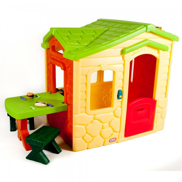 Little Tikes Picnic On The Patio Playhouse - Yellow - Baby  Birthday Your Baby Gifts - Boys - 6-12 months