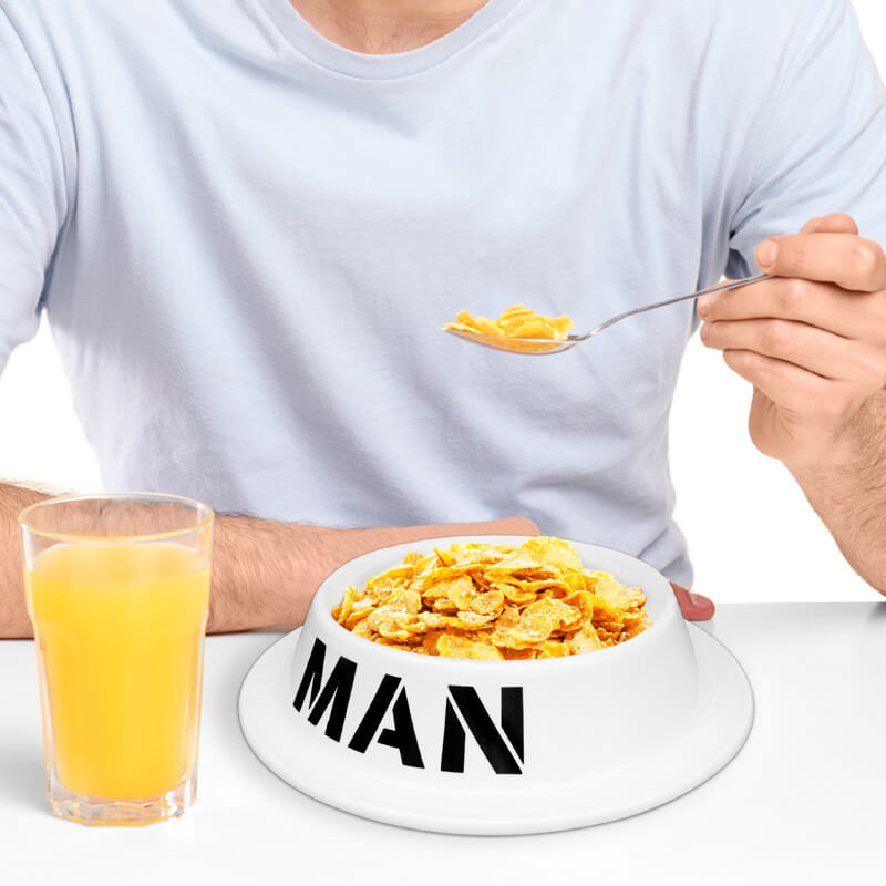 Man Bowl - 16th Birthday Novelty Gifts