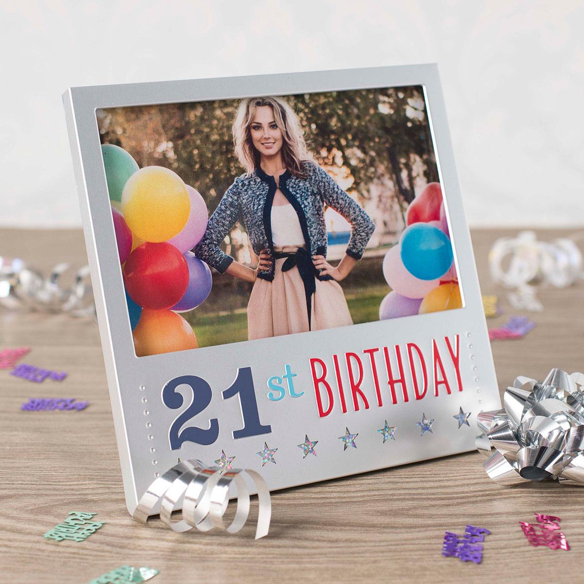 Milestone Frames 21st Birthday - 21st gift