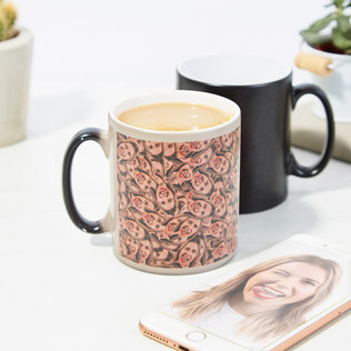 Mug Mug - Personalised Heat Change Mug - 18th gift