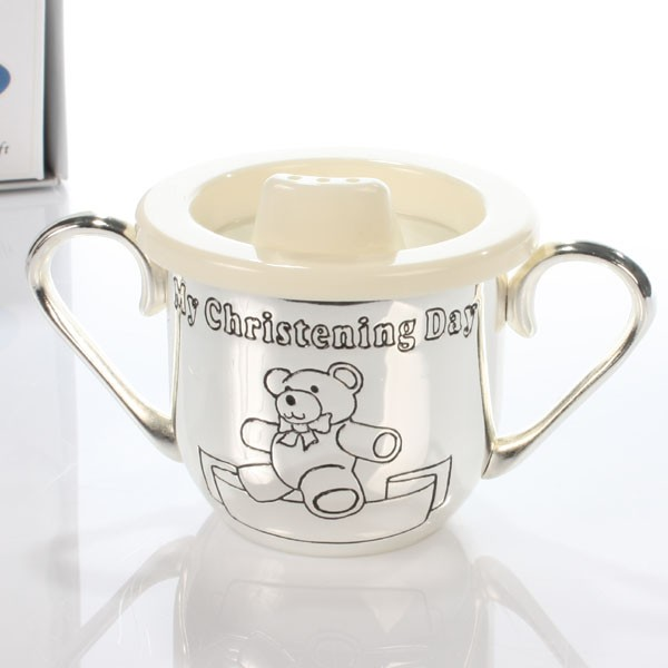 My Christening Day Baby Cup - Baby  Birthday Your Baby Gifts - Boys Christening