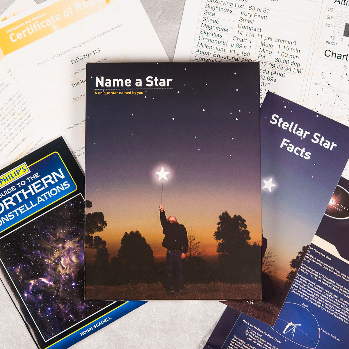 Name a Star - For A 21st Birthday - 21st gift