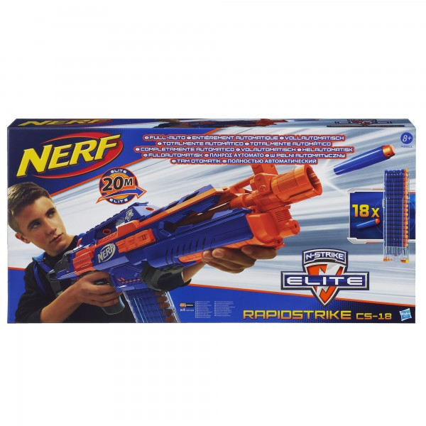 Nerf N-Strike Elite Rapidstrike - Children's Birthday Your Kids Bday - 6th Birthday