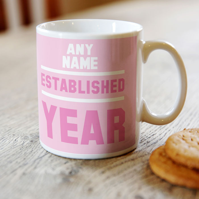 Personalised 21st Birthday Mug - Est 1994 - For Her - 21st gift