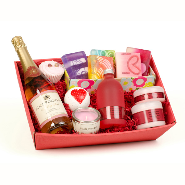 Personalised Pamper Hamper Gift Packs Luxury Pamper Hamper - 18th gift