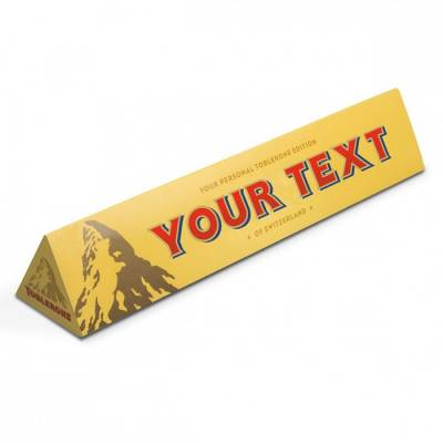 Personalised Toblerone Bar - 30th gift