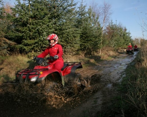 Quad Bike Trek in Northumberland - Christmas  gift
