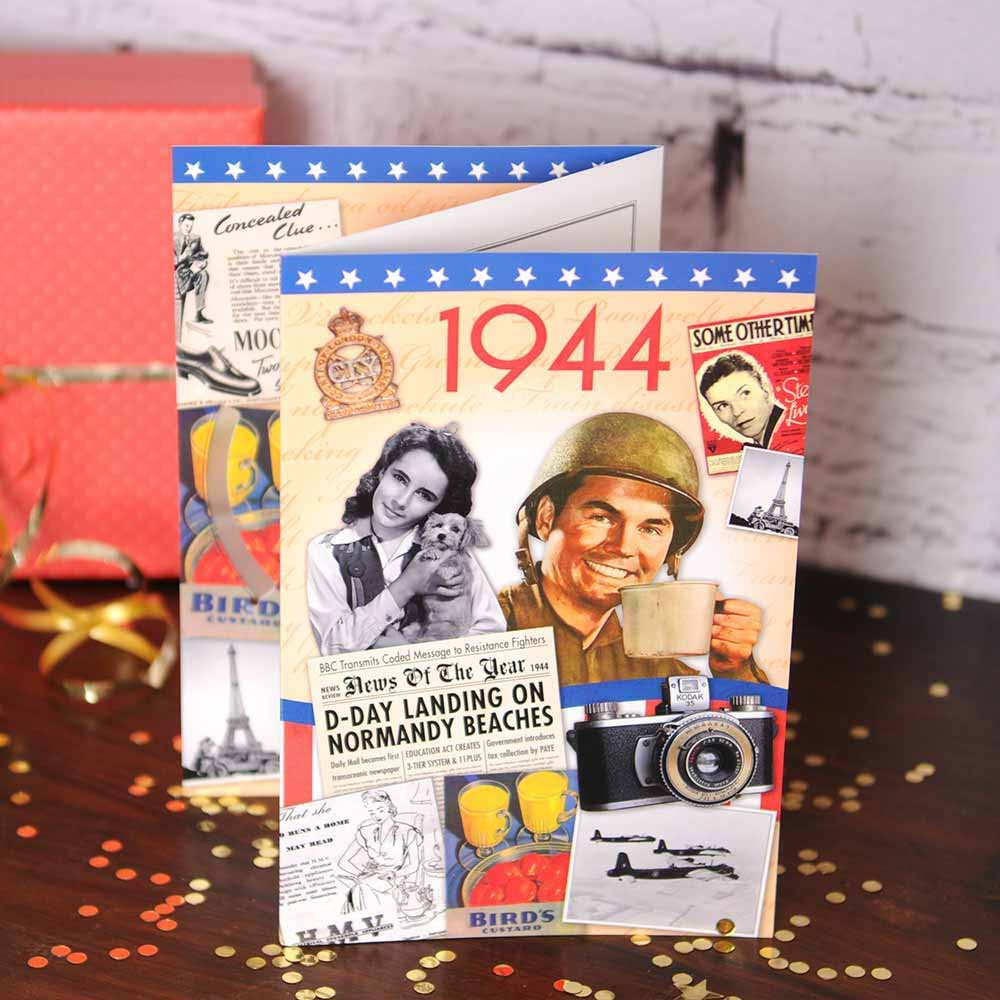Retro DVD Birthday Card - 50th gift