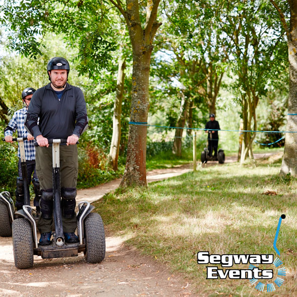 Segway Rally Racing Thrill for 2 Experience - 21st gift