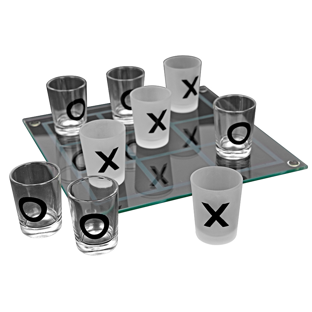 Sip Tic Tac Toe Drinking Game - 21st gift