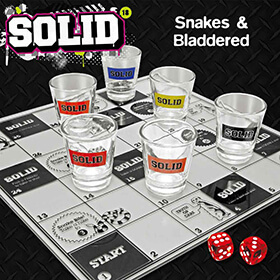 Snakes And Bladdered - 21st gift